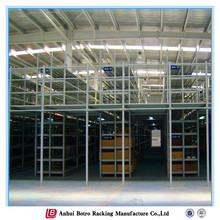 China adjustable Q235 power coating ISO9001 multi-layer steel office mezzanine