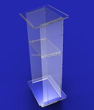 organic glass church podium/pulpit