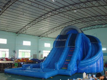 mini water slide , LZ-B2597 inflatable water slide beach