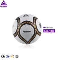 Factory Direct Saling Size 5 Hand Sewing Training Rubber Soccer Ball Professional Match Foot Ball