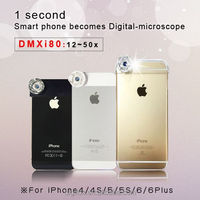 DMXi80 (12~50X) Mobile phone lens for iPhone smart Phone Case