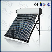 2015 hot selling compact heat pipe pressurized solar water heater