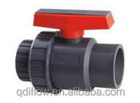 Plastic Single Union Ball Valve Threaded/Socket/Flanged