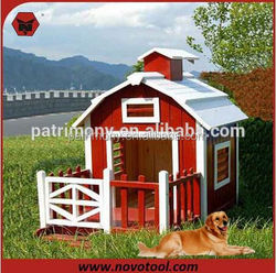 Cheap Wooden Dog Cage / Dog Kennel /wooden dog house with a-frame top