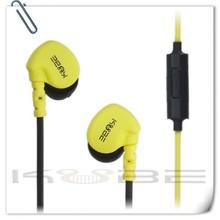 2014 custom designed headphone manufacturers colorful earhook earphone
