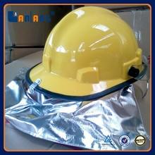 Plastic fireman fire fighting China safety helmet supplier