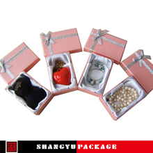 liner paper jewelry boxes with clear window