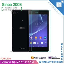 Better Glass Material Tempered Glass Screen Protective Film For Sony L50W With Retail Package