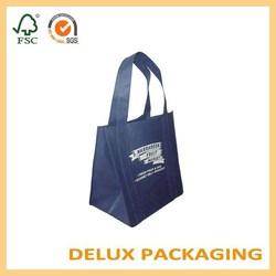 2015 hotsale simple design reusable promotional drawstring canvas bag