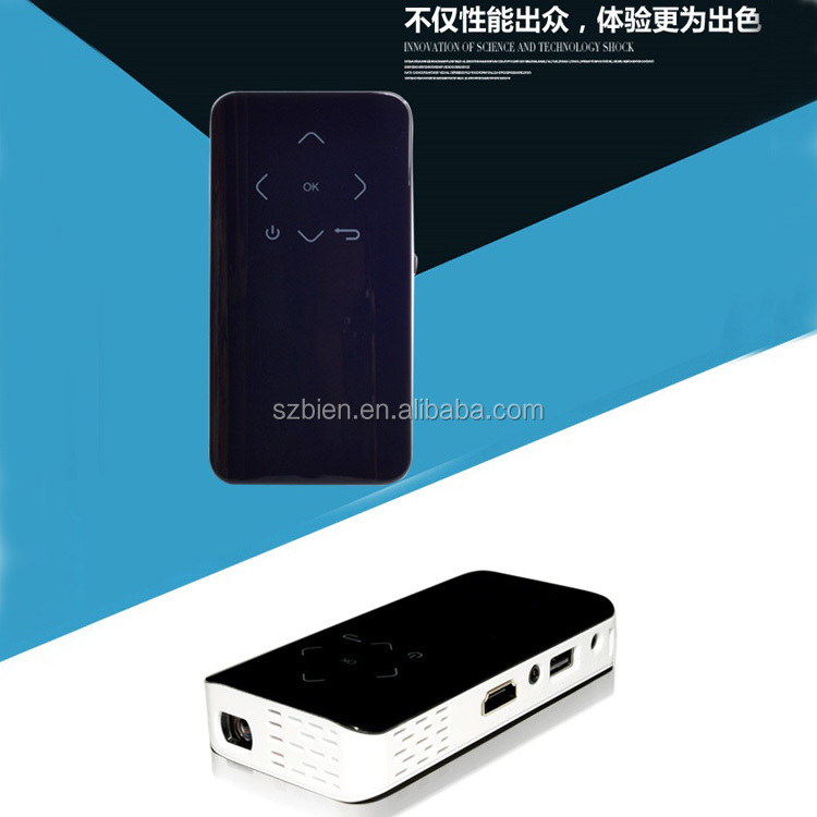 1080p dlp mini wireless portable led pocket projector wifi for Led projector ipad