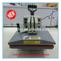 New Arrival Shaking Heads Heat press Machine Transfer Machine for Sublimation T-Shirt ,plate,phone case ,Stone etc.