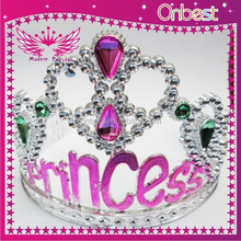 bulk princess rhinestone crystal beauty pageant crowns & tiaras party decoration kids play accessory