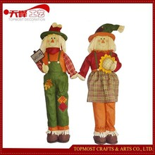 Harvest Festival Fabric Decoration,Standing Scarecrow Toys