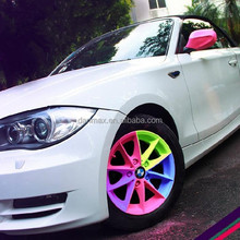 New arrival product colorful removable car rubber spray paint