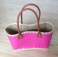 2014 hot selling ladies pretty straw tote bags wholesale