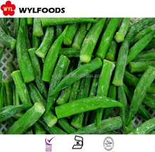 high quality iqf okra cut price