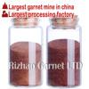 RZG super clean garnet sand blasting 30/60 mesh for highest quality surface preparation