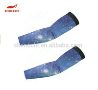 Custom sublimated Spandex Arm Sleeve cycling arm sleeve UV Protection OEM Service custom printed arm sleeves