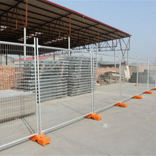 Hot sale low price galvanized Australia standard temporary fence (High quality and high security)