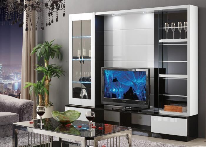 Alibaba Middle East Living Room Set Furniture Tv Cabinet Modern Designs