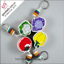 EVA foam key ring /eco-friendly keychain /custom printed keyrings