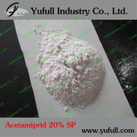 Acetamiprid 20% WP insecticide against termite