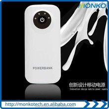 New Corporate Gift Items Portable Emergency USB Power Bank 5600mah
