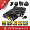 2014 New Full HD 4 Channel 3G WIFI GPRS GPS Mobile DVR with Sim Card
