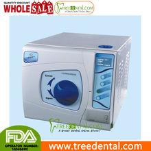 Tr-sun18-ii-l 18L Dental Autoclave esterilizador a vapor de presión de vacío, clase b, con pantalla LCD