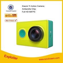 2015 hottest Original Xiaomi Yi Camera 1920x1080p Xiaoyi Action Sport Camera, 16MP WIFI Standard Edition Xiao Yi/Xiaomi Camera