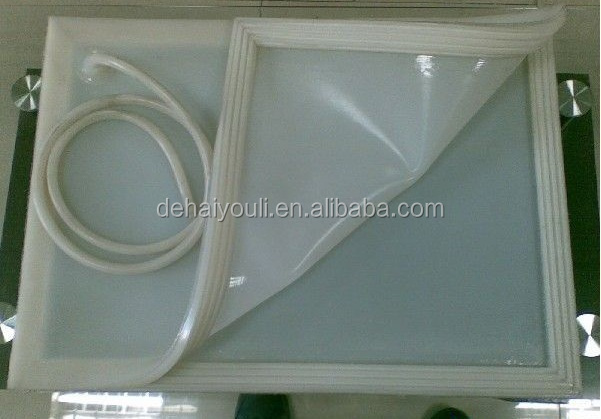 Silicone Rubber Vacuum Bag For Laminated Glass Furnace