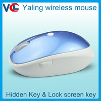 Novelty 2.4Ghz Wireless mouse , computer mouse with mute and show desktop function
