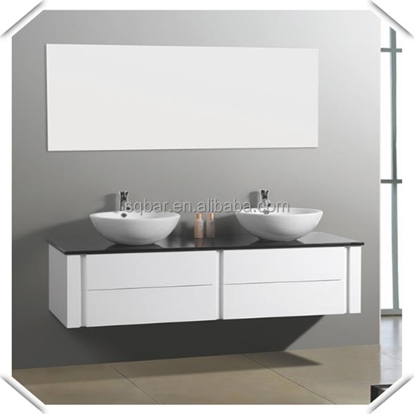 Sqbar european modern waterproof mdf bathroom cabinets for Waterproof bathroom cabinets