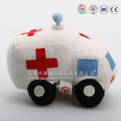 China ICTI plush toys factory stuffed toys manufacture toy ambulance