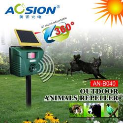 SOLAR POWERED PIR Outdoor urtrasonic animal trap