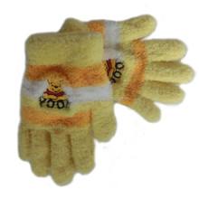 Winter new cute coral fleece gloves for children