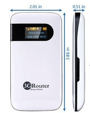 Similar to Unlock HUAWEI Portable wireless 3G WiFi Router
