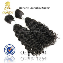wholesale black japanese fiber synthetic hair bulk products