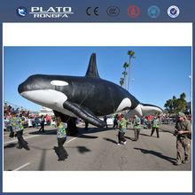 Pvc de gran <span class=keywords><strong>desfile</strong></span> de promoción inflable gigante de pescado, pez volador inflable
