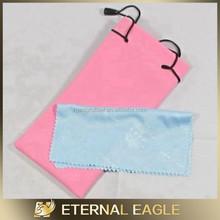custom printing microfiber sunglasses cloth pouch