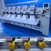 multi head cap&t-shirt computer controlled embroidery machines