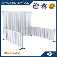 Portable pipe and drape for wedding party/pipe and drape