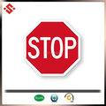 2015 leve mas durável plástico de trânsito e sinalização de segurança, impressão sinal de estrada