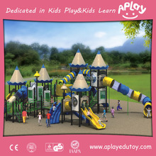 Used school play equipment nearly brand new children outdoor toys plastic playgrounds