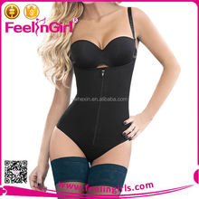 Factory price hot sexy perfect body shaper with zipper
