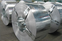 Light galvanized steel strip
