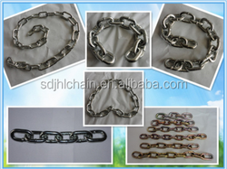 Low price short link chain, hot sale chain link from JHL chain