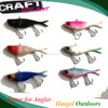 Long stretch artificial bait, lead head lure, vib crank bait lure