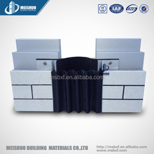aluminum base flexible seal expansion joint material for brickwall