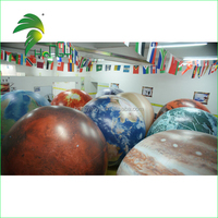 2015 High quality inflatable advertising helium balloons planet